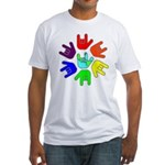 Love of Many Colors Fitted T-Shirt