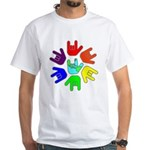 Love of Many Colors White T-Shirt