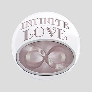 """Infinite Love 3.5"""" Button"""