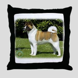 Akita 9R047D-143 Throw Pillow