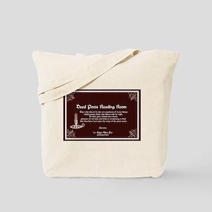 Edgar Alan Poe Tote Bag