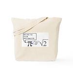 Irrational Numbers Tote Bag