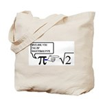 Irrational Numbers Tote Bag