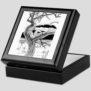 Killimanjaro Sunset Keepsake Box