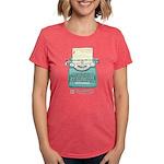 Margaret Grey Smart Womens Tri-Blend T-Shirt
