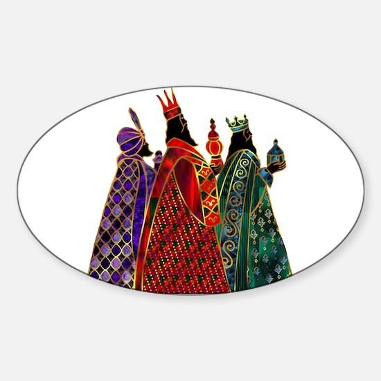 Wise Men Sticker (Oval)