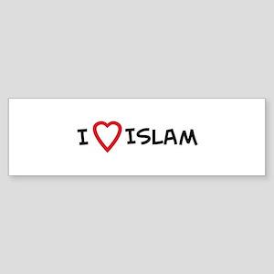 I Love Islam Bumper Sticker