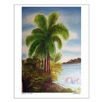 Royal Palm Small Poster