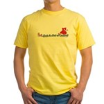 Hot Fast and Out of Control Yellow T-Shirt