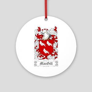 MacGill Ornament (Round)