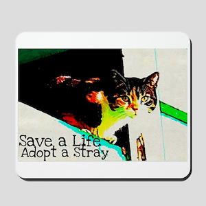 Adopt a Stray Mousepad