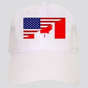 Canadian American Flag Cap
