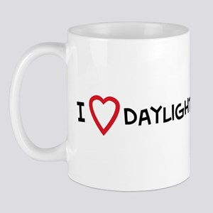 I Love Daylight Savings Time Mug