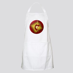 Bronze & Gold Kokopelli Apron