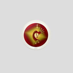 Bronze & Gold Kokopelli Mini Button