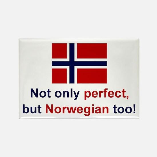 "Perfect Norwegian Magnet (3""x2"")"