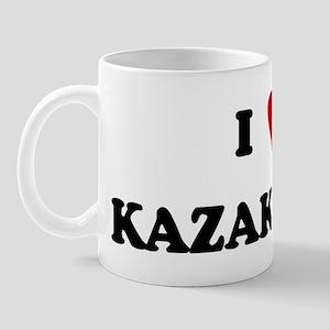 I Love Kazakstan Mug