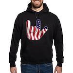 I Love America Hoodie (dark)