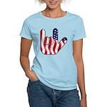 I Love America Women's Light T-Shirt