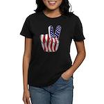 Peace America Women's Dark T-Shirt