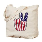 Peace America Tote Bag