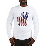 Peace America Long Sleeve T-Shirt