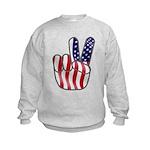 Peace America Kids Sweatshirt