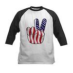 Peace America Kids Baseball Jersey
