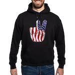 Peace America Hoodie (dark)