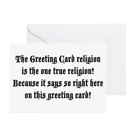 The One True Religion Greeting Cards (Pk of 10)