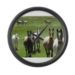 Appaloosa Large Wall Clock