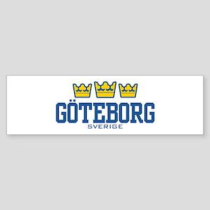 Goteborg Sverige Sticker (Bumper)