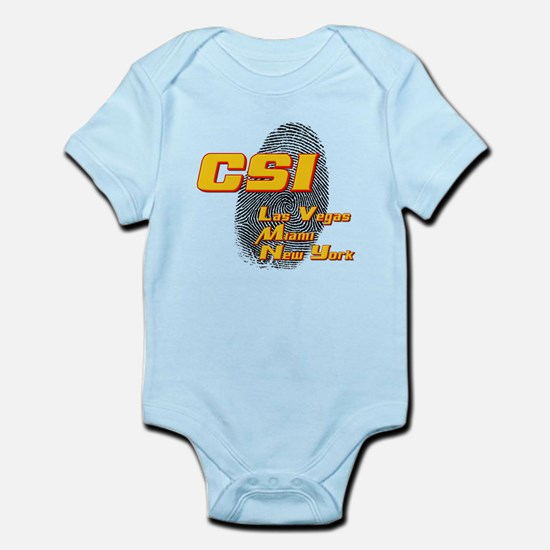 CSI Las Vegas Miami New York Infant Bodysuit