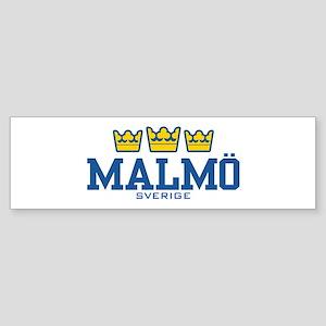 Malmo Sverige Sticker (Bumper)