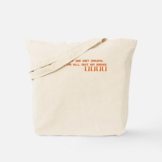 Dogma Drunk Tote Bag