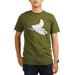 Snowmobile Organic Men's T-Shirt (dark)