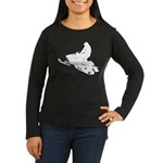 Snowmobile Women's Long Sleeve Dark T-Shirt
