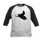 Snowmobile Kids Baseball Jersey