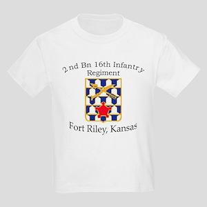 2nd Bn 16th Infantry Kids Light T-Shirt