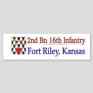 2nd Bn 16th Infantry Sticker (Bumper)