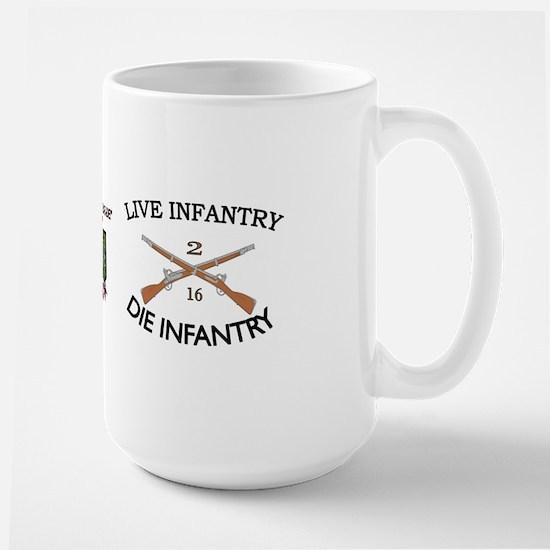 2nd Bn 16th Infantry Large Mug