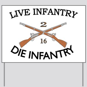 2nd Bn 16th Infantry Yard Sign