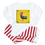 Rooster Brick Pajamas