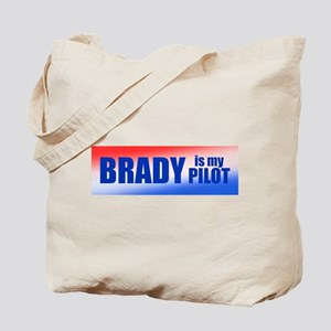 Brady Is My Pilot Tote Bag