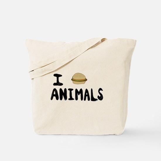 Cute Bacon slogan Tote Bag