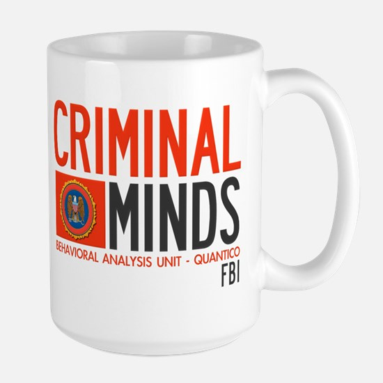 Criminal Minds FBI BAU Large Mug
