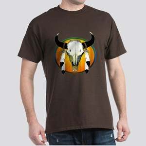 Buffalo skull Dark T-Shirt