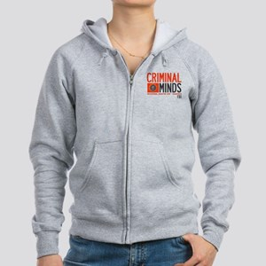 Criminal Minds FBI BAU Women's Zip Hoodie