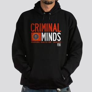 Criminal Minds FBI BAU Hoodie (dark)