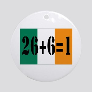 Irish pride Ornament (Round)